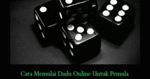 Cara Memulai Dadu Online Untuk Pemula